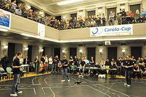 Der Carolo-Cup 2012 in der Aula