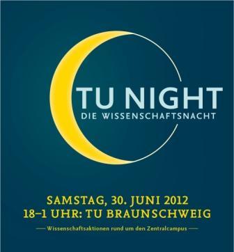 Das Logo der TU-NIGHT 2012. Foto: TU Braunschweig