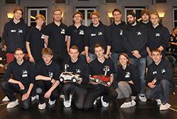 Die Zweitplatzierten CDCL der TU Braunschweig.