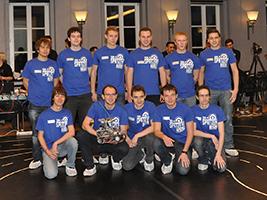 Das Siegerteam Spatzenhirn von der Universität Ulm.