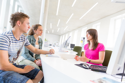 Persönlicher Bewerbungscheck im Studienservice-Center