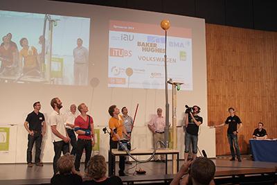 """Ebenfalls für das beste Gesamtpaket wurde das Studierenden-Team """"Grenzenlos"""" der TU Braunschweig ausgezeichnet"""