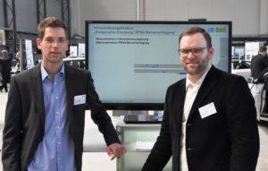 Mirko Barthauer und Ralf Kutzner vom IVS
