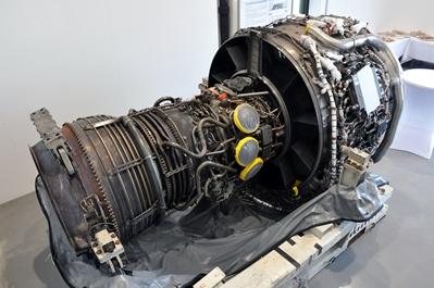 Das neue Versuchstriebwerk vom Typ IAE V2500-A1