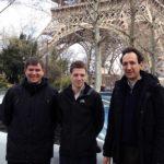 Das deutsch-französische Projektteam bestehend aus Daniel Rother, Stefan Ilsen (beide TU Braunschweig) und Pierre Bretillon (TDF)
