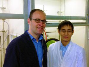 Post-Mentor Prof. Dr. Daniel B. Werz und Dr. Hideki Tamai