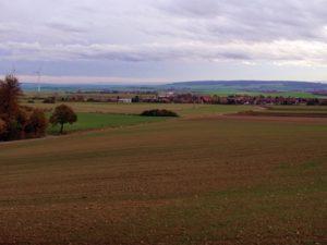 Blick auf die Gemeinde Remlingen
