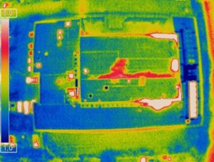 Mit Hilfe von Thermographie-Aufnahmen hat das Projektteam den Verbesserungsbedarf an Hüllenflächen untersucht