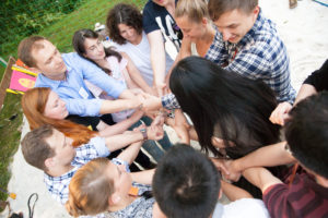Summer Networking der Mentoring-Programme in der Okercabana