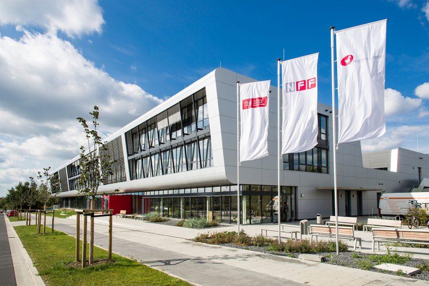 Der NFF-Neubau am Forschungsflughafen (Foto: Christian Bierwagen/NFF)