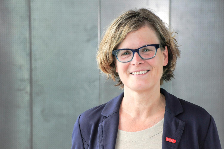 Professorin Dr. Antje Schwalb, Leiterin des Instituts für Geosysteme und Bioindikation der TU Braunschweig. (Bildnachweis: Anne Hage/TU Braunschweig).