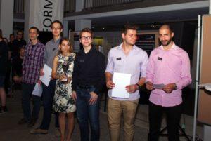 """Einen verdienten 3. Platz erzielte das Team """"Pacmen 2015"""""""