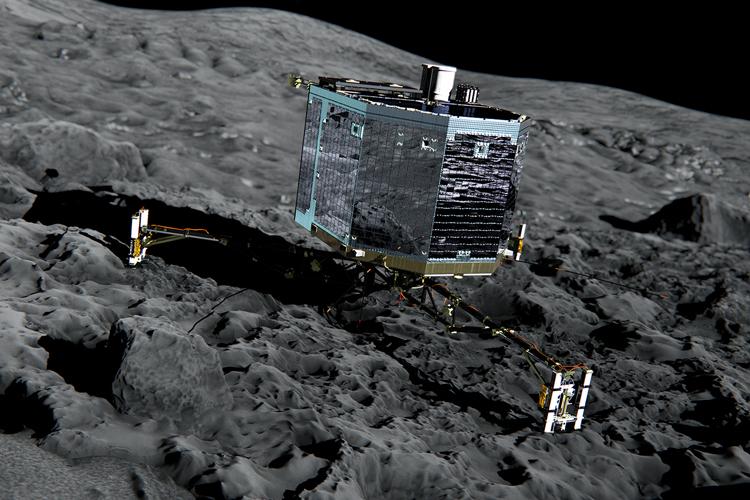 """Abschied von Kometen-Lander """"Philae"""""""