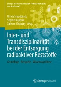 """Buchcover der aktuellen Publikation aus der """"ENTRIA""""-Forschungsplattform. (Springer)"""