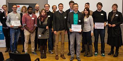 Beim InnoBrunch präsentierten Lehrende aktuelle Innovations- und Transferprojekte.