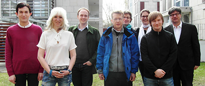 Das Team hinter der DFG-geförderten Studie: M.Sc. René Schmidt, Dr. Anja Grocholewski, M.Sc. Marian Luckhof, Dr. Till Beuerle, Prof. Dr. Ute Wittstock, Prof. Dr. Nina Heinrichs, M.Sc. Marco Grull, Prof. Dr. Frank Eggert