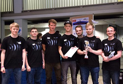 Platz 3: Das Team des Instituts für Systemsicherheit