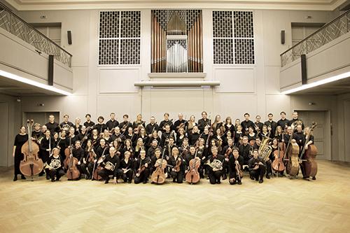 Das Orchester der TU Braunschweig. Bildnachweis: Inga Barnick