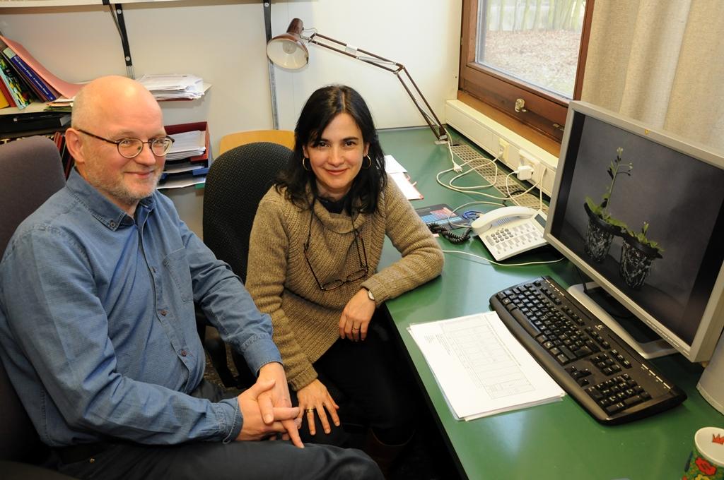 Prof. Dr. Theo Lange und Dr. Maria Pimenta Lange von der Abteilung Biochemie und Physiologie der Pflanzen am Institut für Pflanzenbiologie der TU Braunschweig