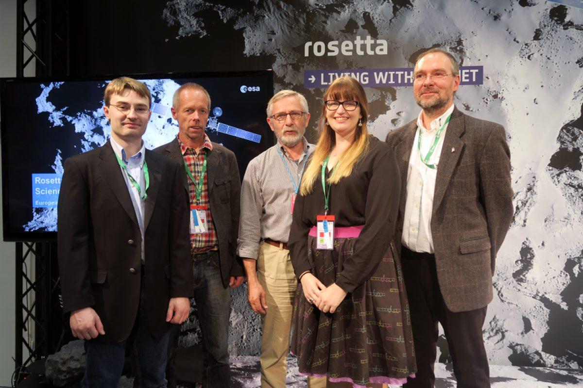 Rosetta-Team verabschiedet sich mit neuem Kometen-Sound