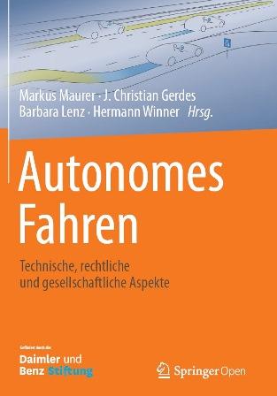"""Cover des Weißbuch """"Autonomes Fahren"""""""