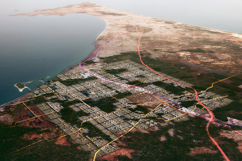 COBE Berlin, Masterplan für Dakar, Senegal