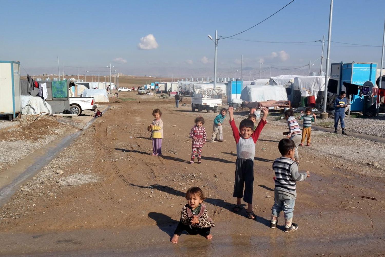 Hoffnung bauen. Ein Schutzhaus für geflüchtete Kinder im Nord-Irak. Bildnachweis: Manal Kado, JhH e.V.