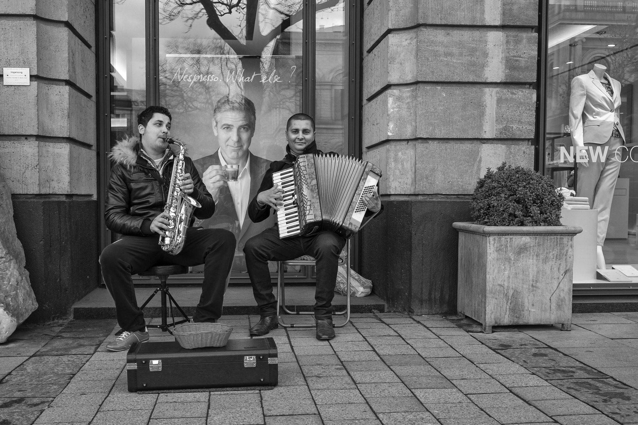 Straßenmusiker. Bildnachweis: Thomas Kurek
