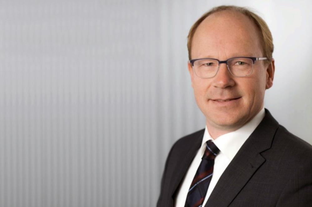 Prof. Markus Henke, Leiter des Instituts für Institut für Elektrische Maschinen, Antriebe und Bahnen. (Bildnachweis: TU Braunschweig)