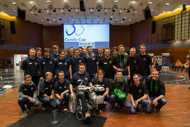 Teamfoto der beiden Braunschweiger Teams.