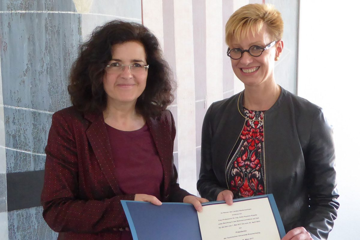 Mai: Amtsantritt Prof. Dr.-Ing. Anke Kaysser-Pyzalla