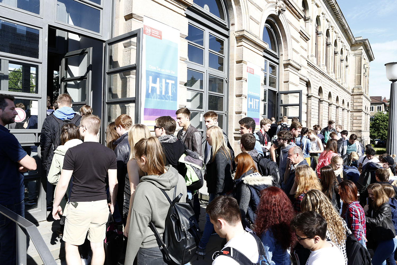 Der Hochschulinformationstag 2016. Bildnachweis: TU Braunschweig