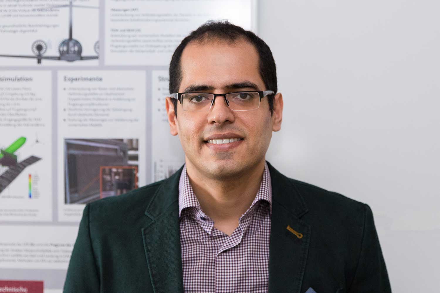 Dr. Ehsan Kian Far, research assistant at the Institute for Engineering Design of the TU Braunschweig. Credit: Jonas Vogel/TU Braunschweig
