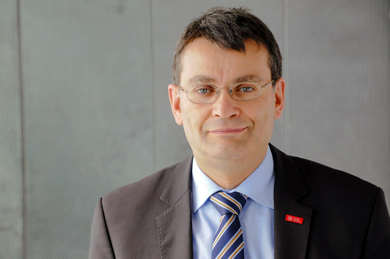 Prof. Dr.-Ing. Thomas Vietor, Institut für Konstruktionstechnik, Technische Universität Braunschweig. Bildnachweis: Sophia Linge/TU Braunschweig