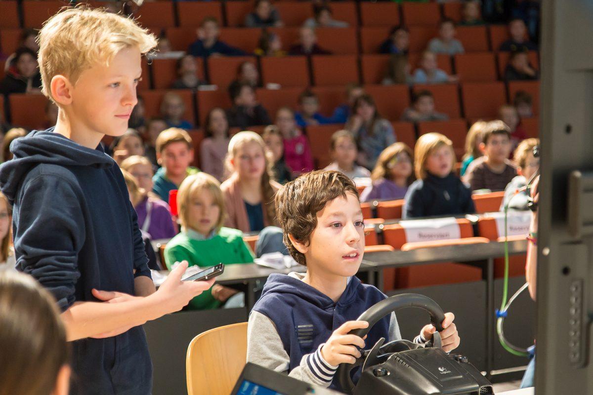 Oktober: Start der Kinder-Uni Braunschweig 2017