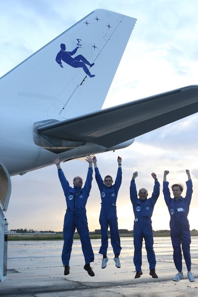 September: DLR-Parabelflugkampagne erfolgreich beendet