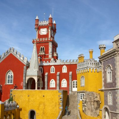 """Zu sehen ist der Palast """"Palacio da Pena""""."""