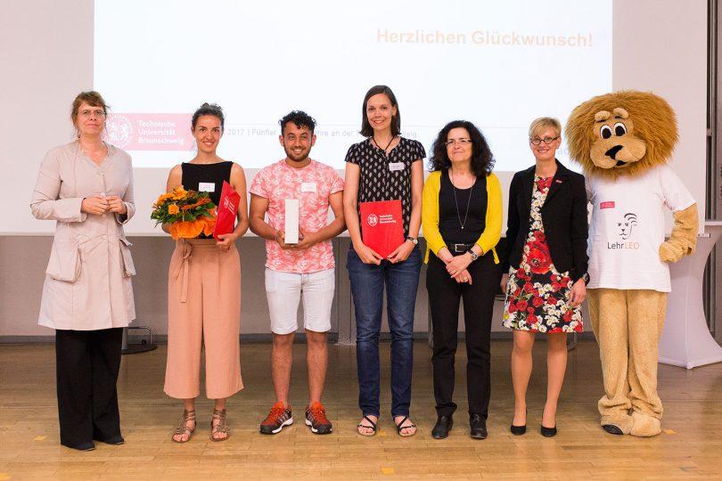 Gruppenbild der Preisträger.