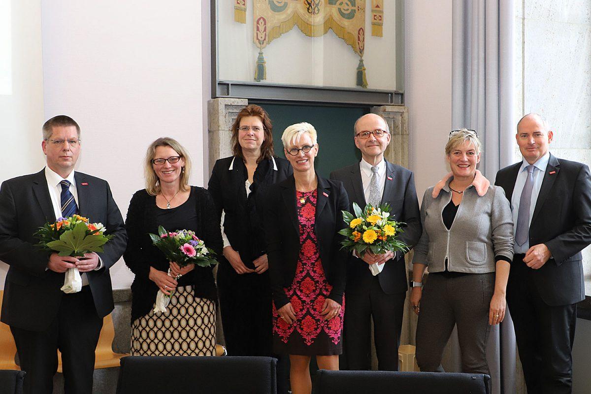 April: Neue Vizepräsidenten im Präsidium