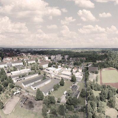 Luftaufnahme Campus Nord