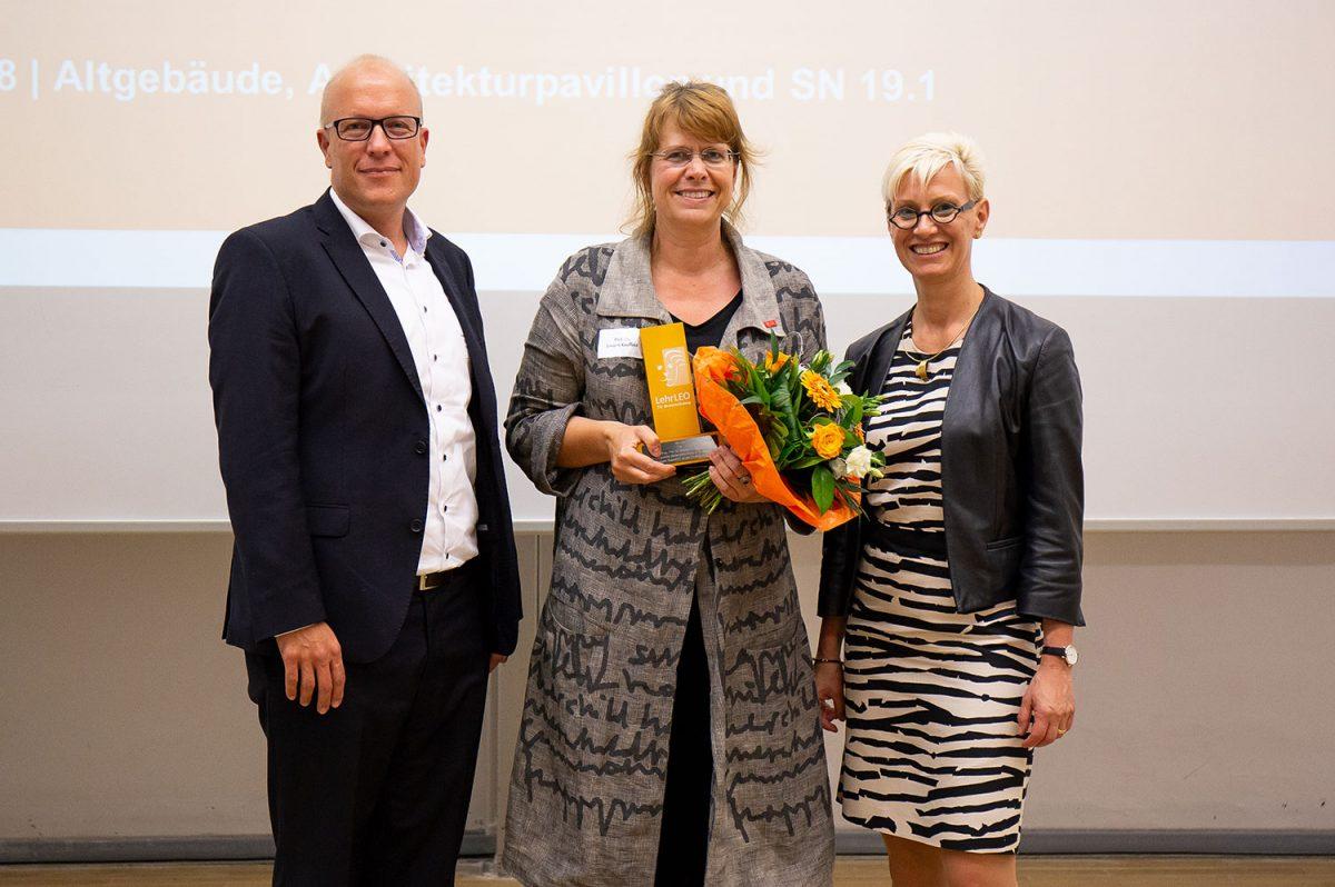 Der 1. Ehren-LehrLEO-Award