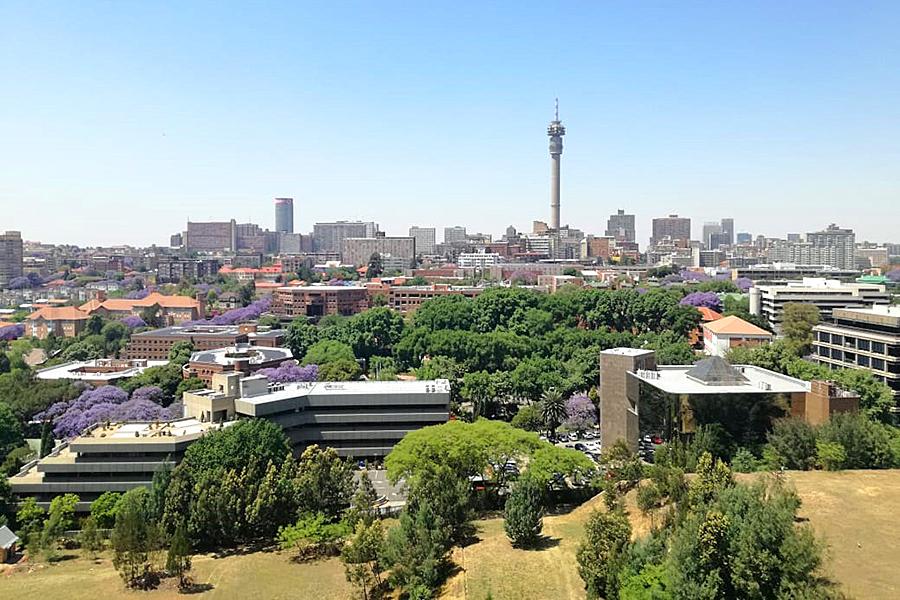 Zu sehen ist Johannesburg in Südafrika.
