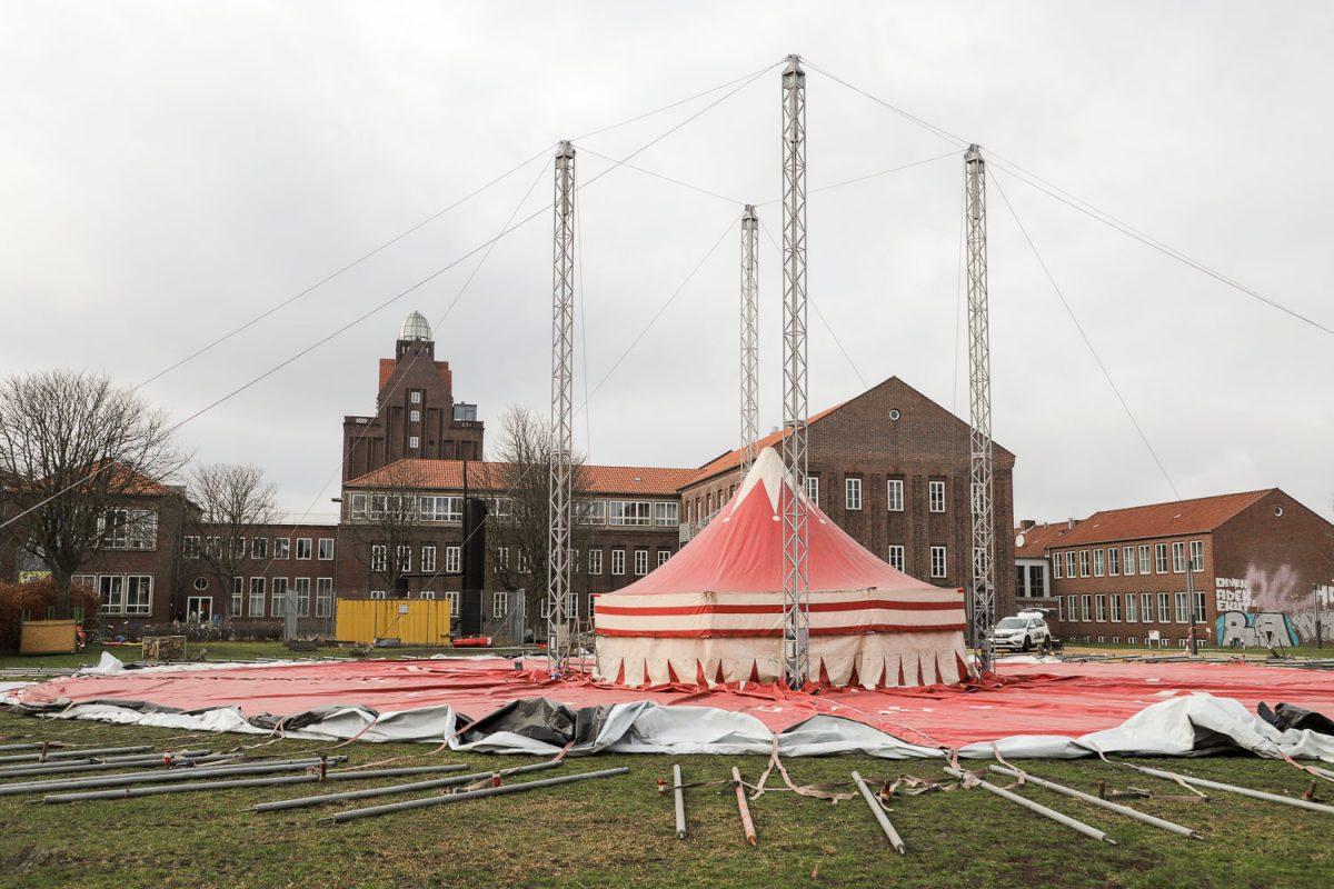 Fußboden Zelt ~ Zirkuszelt wird zum hörsaal tu braunschweig s