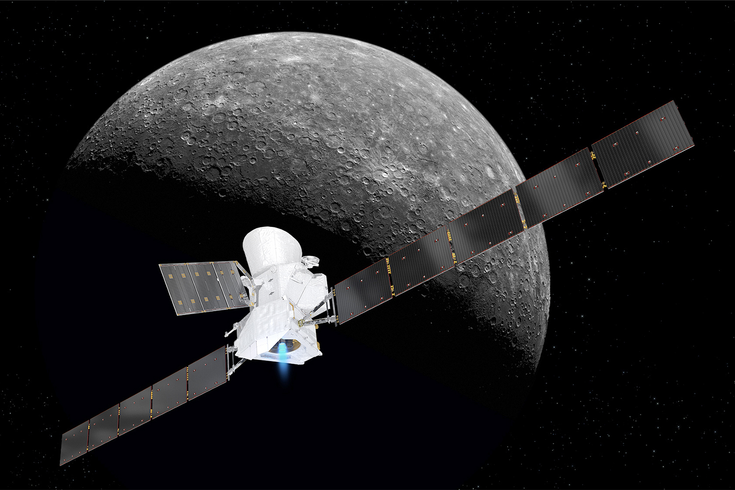 BepiColombo and Mercury