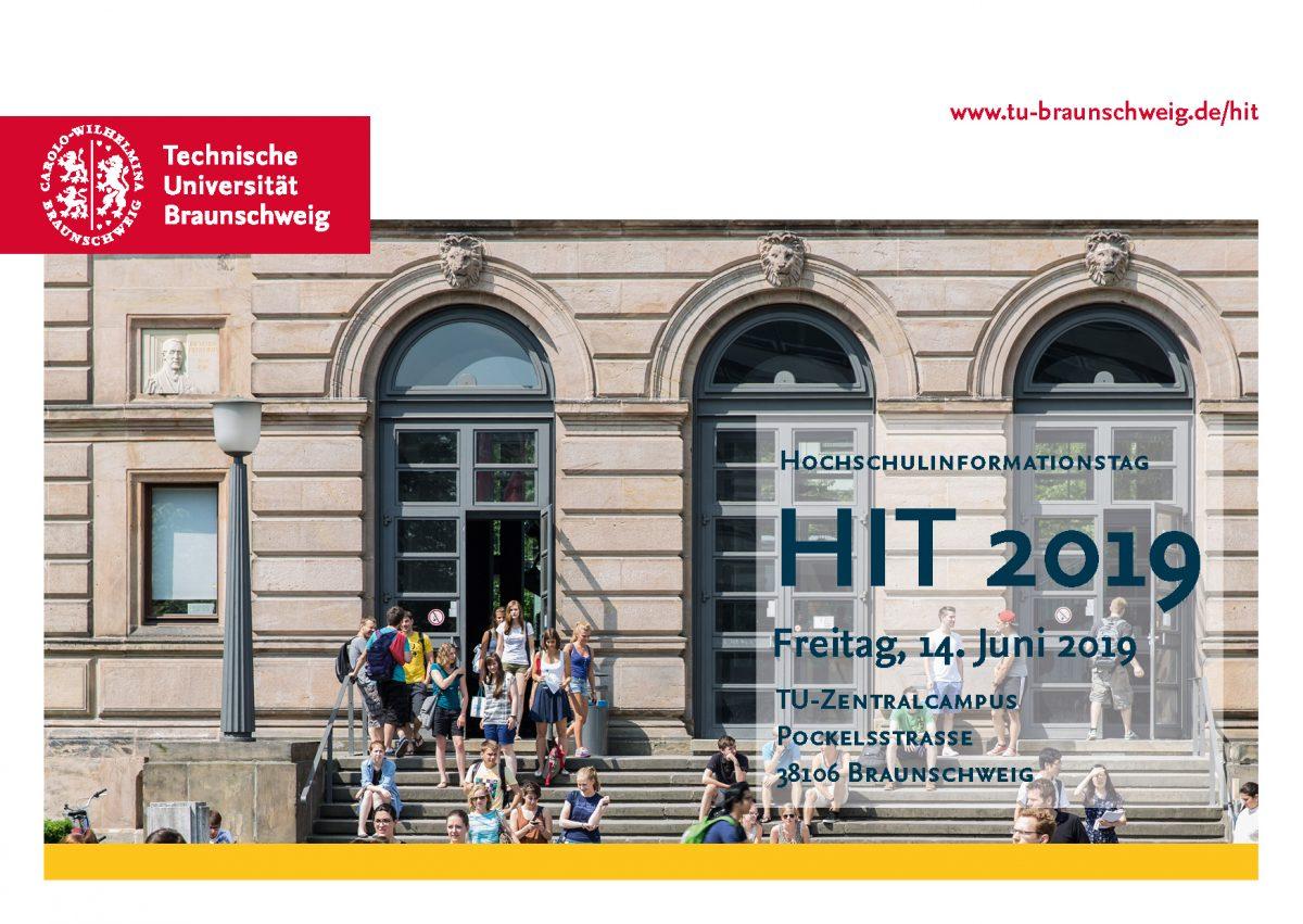 Hochschulinformationstag Hit 2019 Tu Braunschweig Blogs