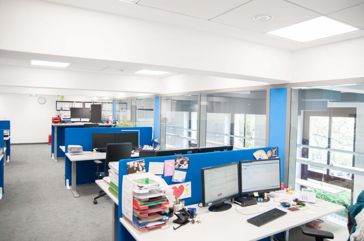 Umbau der Geschäftsstelle der Fakultät für Maschinenbau