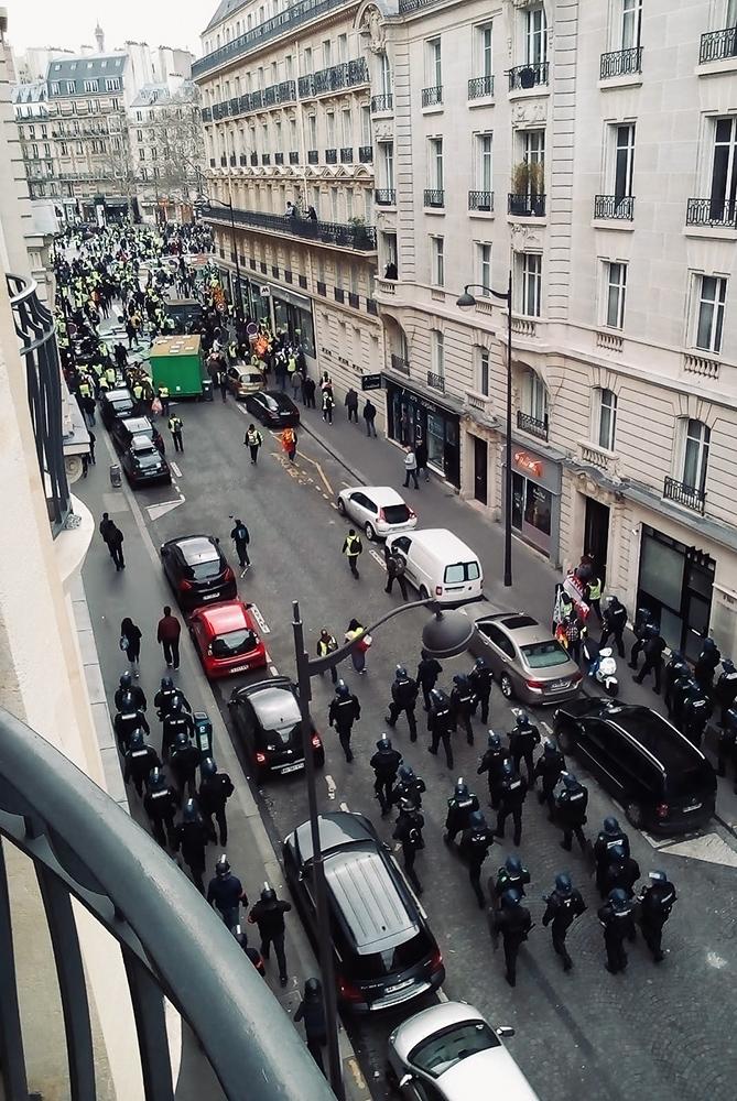 Post aus ... Paris