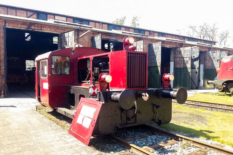 """Die Kleinlokomotive """"Köf II"""". Bildnachweis: Aka Rail/TU Braunschweig"""