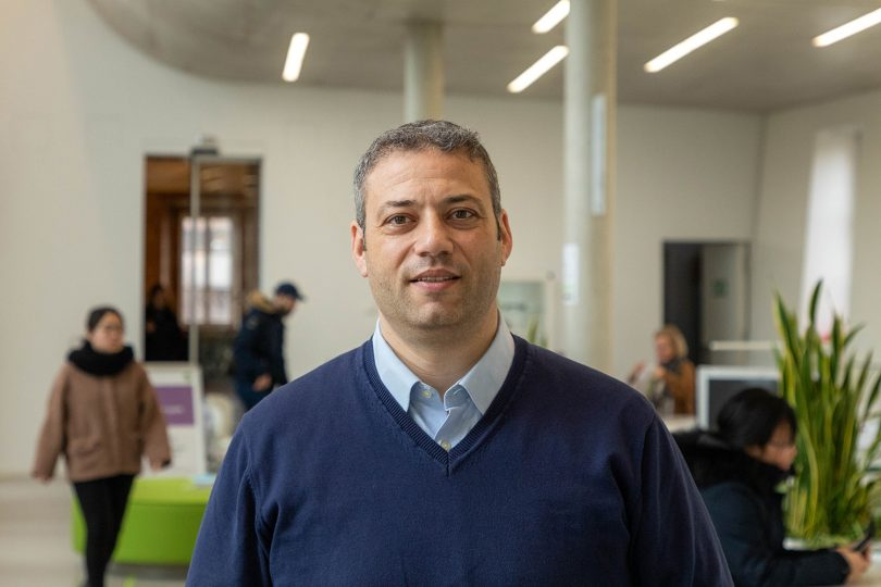 Dott. Francesco Ducatelli ist Erasmus+ Hochschulkoordinator an der TU Braunschweig. Bildnachweis: Laurenz Kötter/TU Braunschweig