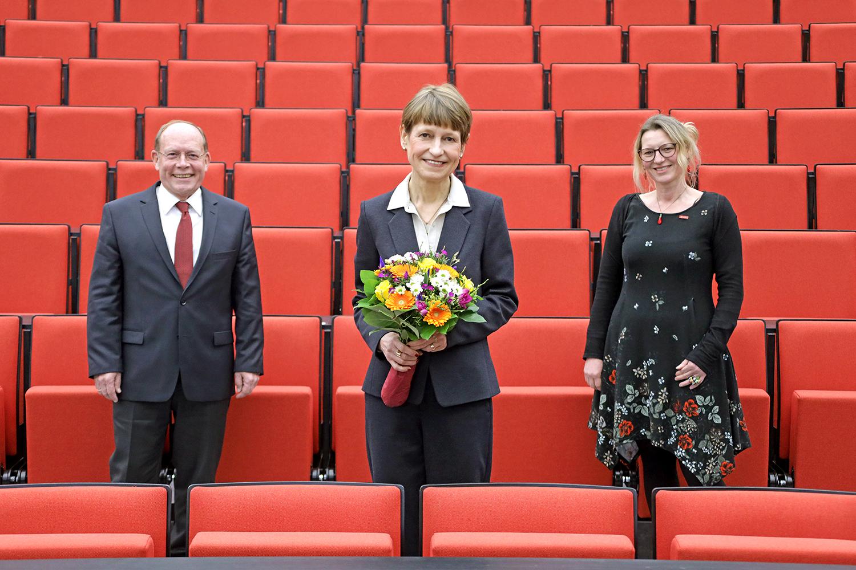 Professor Lothar Hagebölling, Professorin Angela Ittel und Professsorin Katja Koch